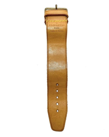 Vachetta Leather Strap