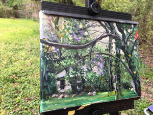 Plein Air Study Painting 8x10in