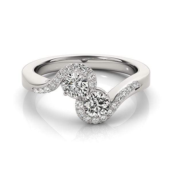 Bonding Dual Diamond Ring- 1 Cttw | The Carat Lab