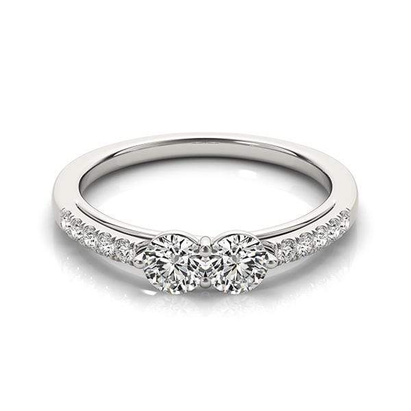 Classic Dual Diamond Ring- 0.65 Cttw | The Carat Lab