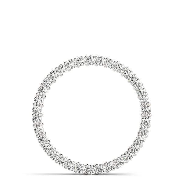 Circle of Love Diamond Pendant- 0.25 Cttw | The Carat Lab