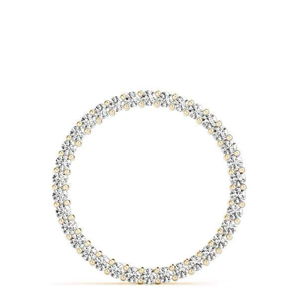Circle of Love Diamond Pendant- 1 Cttw | The Carat Lab