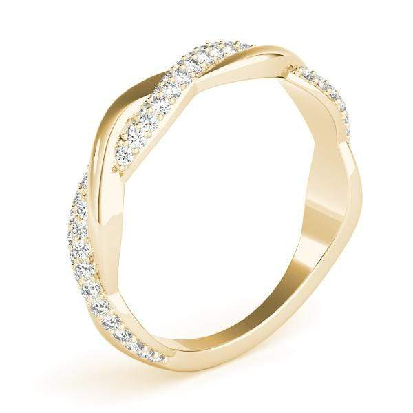 Curved Fashion Diamond Ring