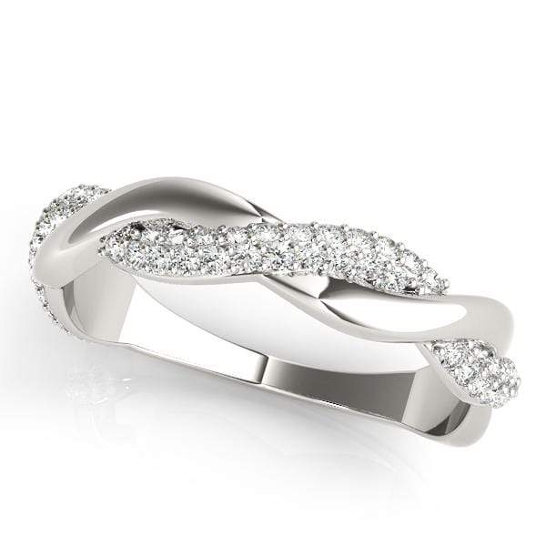 Curved Fashion Diamond Ring | The Carat Lab