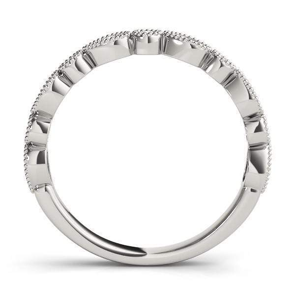 Cyber Monday Intricate Stackable Diamond Ring | The Carat Lab