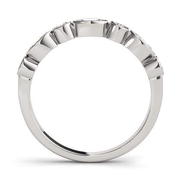 Cyber Monday Oval and Round Stackable Diamond Ring | The Carat Lab