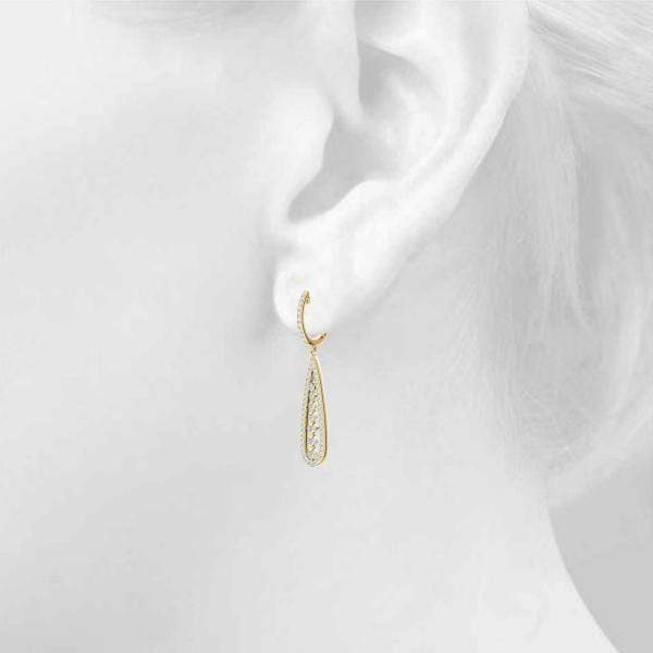 Dangling Drop Fashion Earrings | The Carat Lab