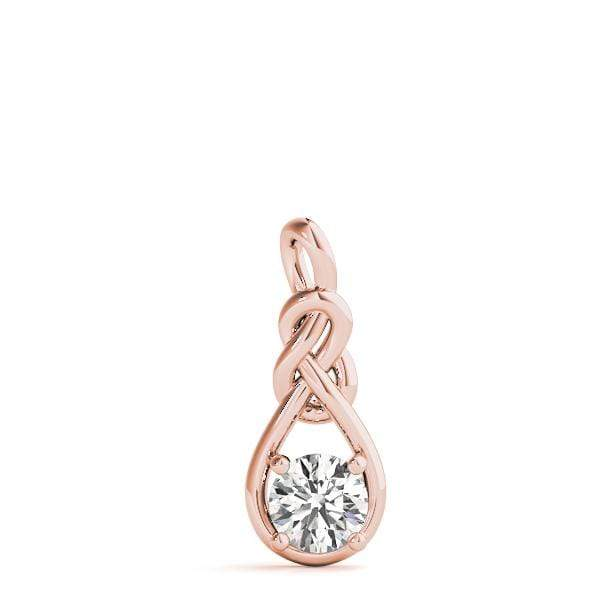 Devotion Love Knot Pendant- 0.50 Cttw | The Carat Lab