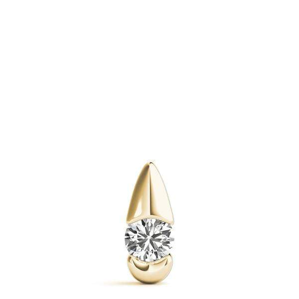 Diamond Eye Solitare Pendant- 0.50 Cttw | The Carat Lab