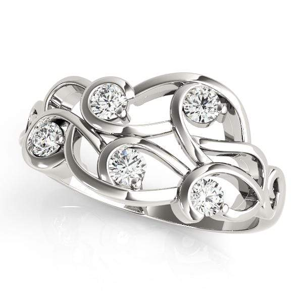 Diamond Overlock Fashion Ring | The Carat Lab