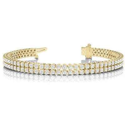 Double Dare Diamond Bracelet- 3 Cttw | The Carat Lab
