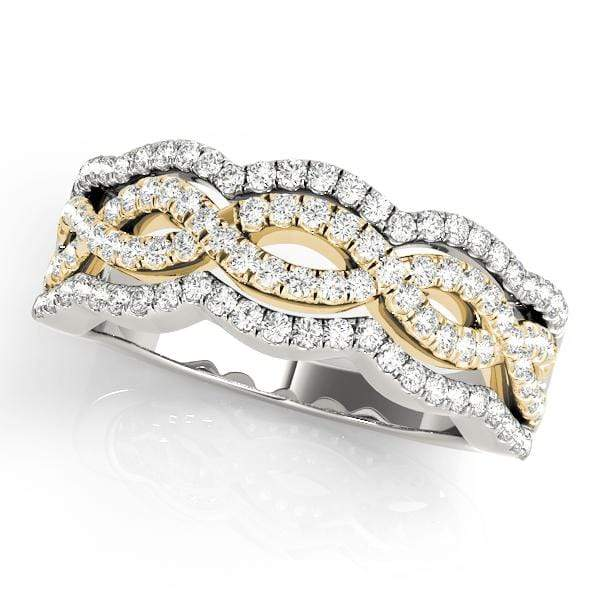 Double Infinity Fashion Diamond Ring | The Carat Lab