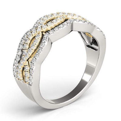 Double Infinity Fashion Diamond Ring