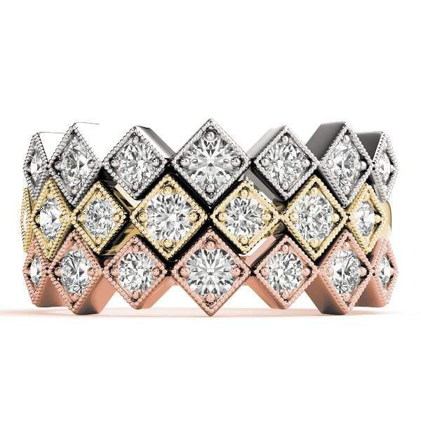 Double Stackable Diamond Ring | The Carat Lab