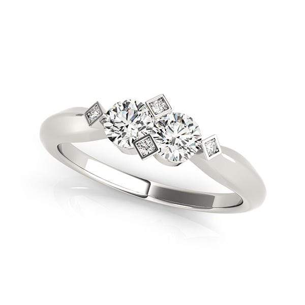 Edgy Dual Diamond Ring- 1/2 Cttw