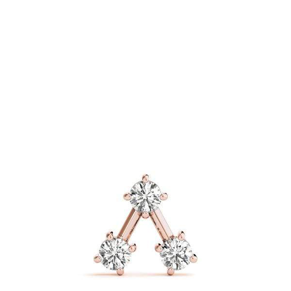 Edifice 3 Diamond Pendant- 0.50 Cttw | The Carat Lab