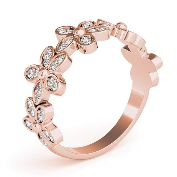 Flower Stackable Diamond Ring | The Carat Lab