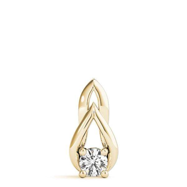 Grace Diamond Solitare Pendant- 0.30 Cttw | The Carat Lab