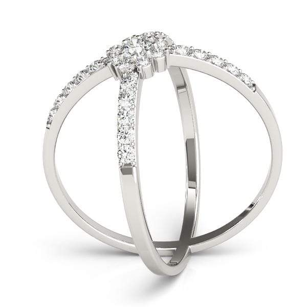 Hugs and Kisses Diamond Ring | The Carat Lab