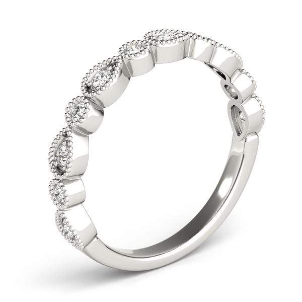 Intricate Stackable Diamond Ring | The Carat Lab