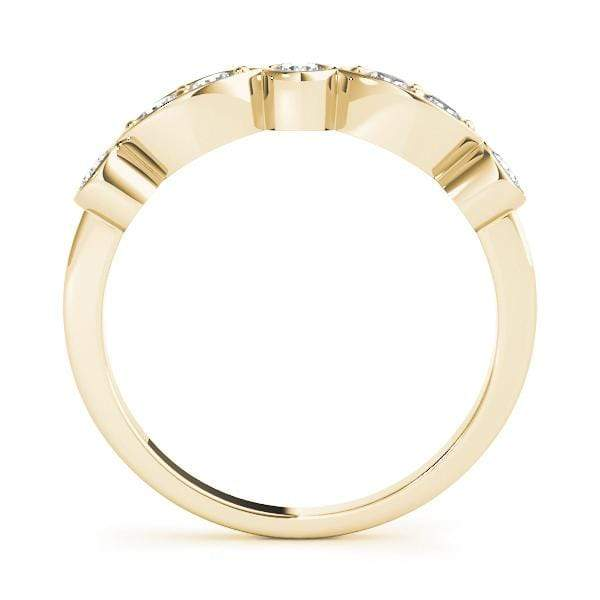 Oval and Round Stackable Diamond Ring | The Carat Lab