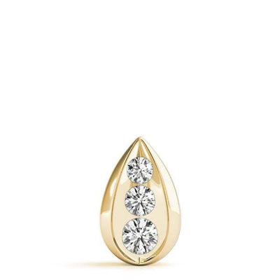 Raindrop 3 Diamond Pendant- 0.50 Cttw | The Carat Lab