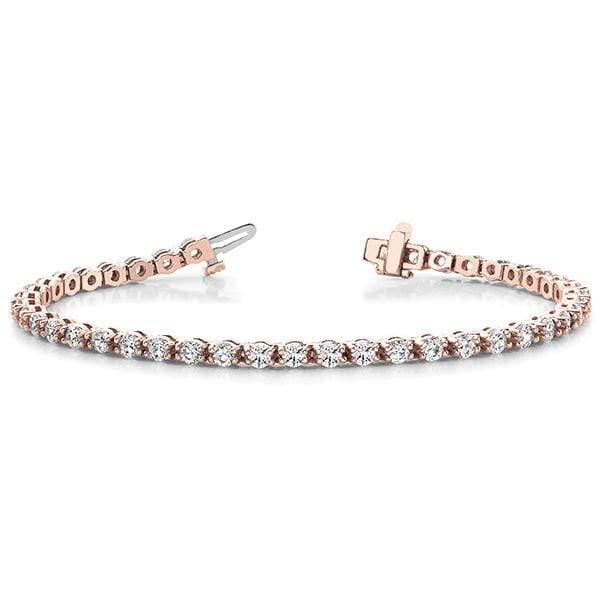 Posh Diamond Bracelet- 3 Cttw | The Carat Lab