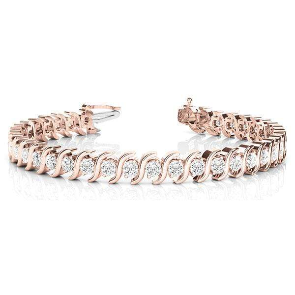 S Diamond Bracelet | The Carat Lab