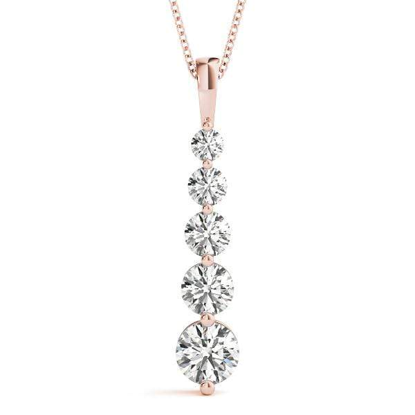Ovation Diamond Journey Pendant- 0.10 Cttw | The Carat Lab