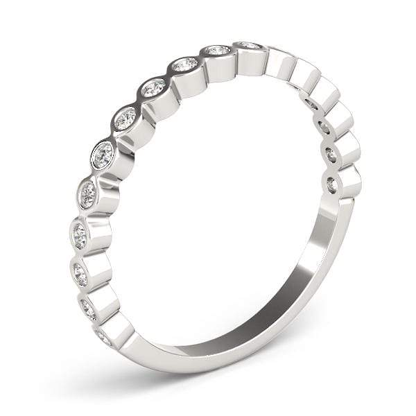 Cyber Monday Round Stackable Diamond Ring | The Carat Lab