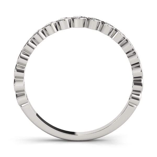 Round Stackable Diamond Ring