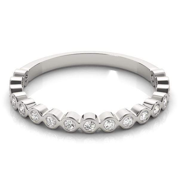 Round Stackable Diamond Ring | The Carat Lab