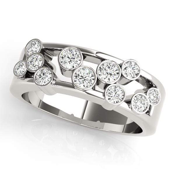 Scattered Raindrops Diamond Ring- 0.50 Cttw | The Carat Lab