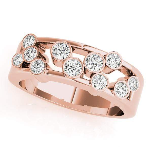 Scattered Raindrops Diamond Ring- 1 Cttw