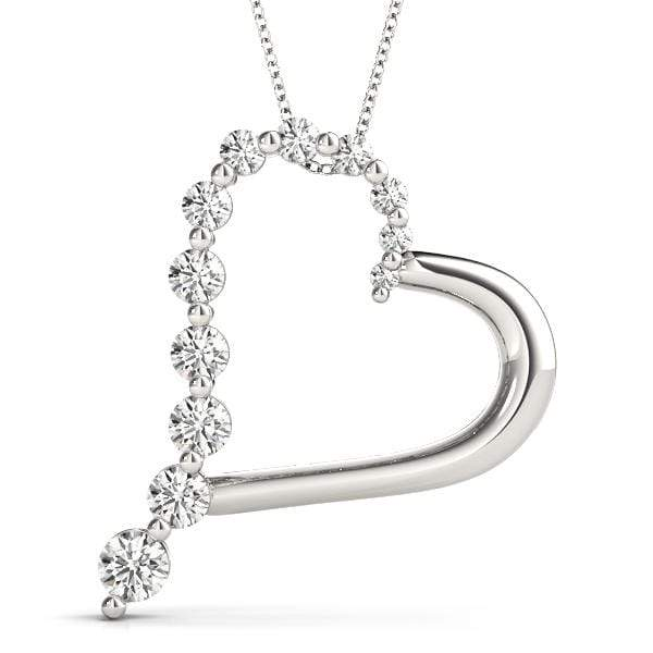 Darling Heart Diamond Pendant- 0.50 Cttw | The Carat Lab