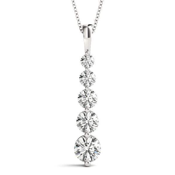 Ovation Diamond Journey Pendant- 1/8 Cttw
