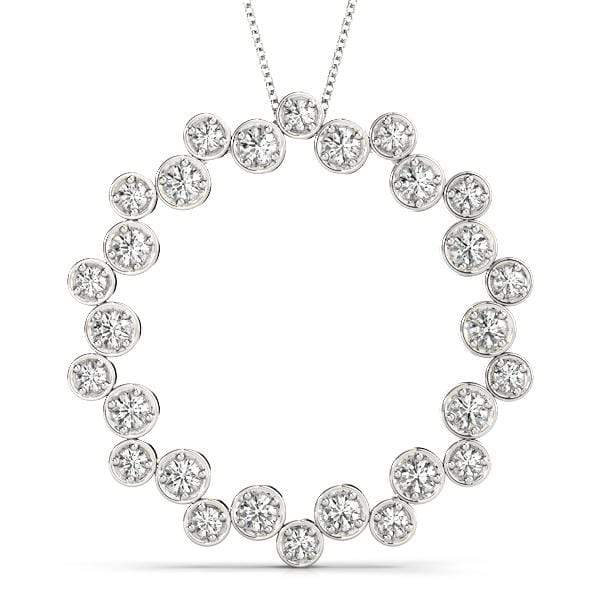 Wreath of Love Diamond Pendant - 0.50 Cttw | The Carat Lab
