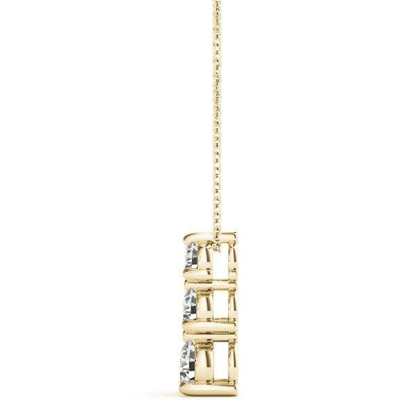 Swell 3 Diamond Pendant- 0.50 Cttw | The Carat Lab