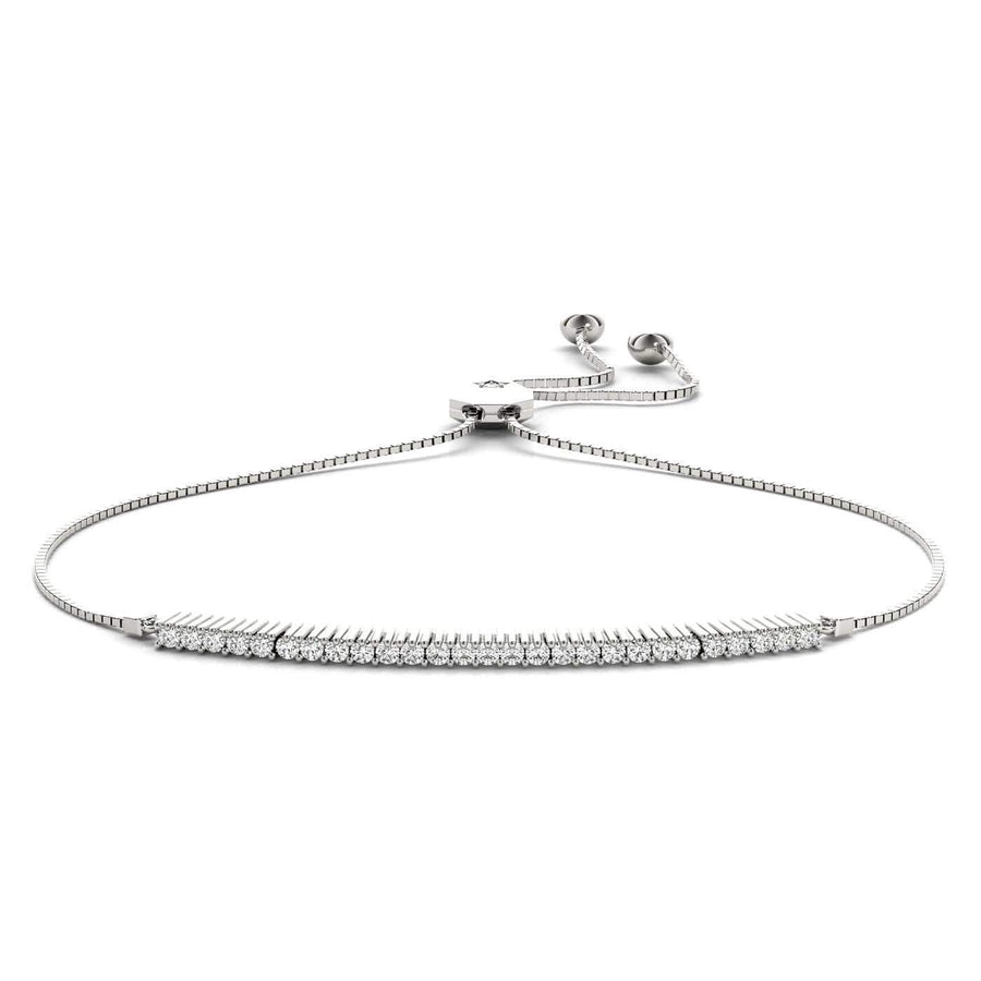 Ropelet Diamond Bracelet | The Carat Lab