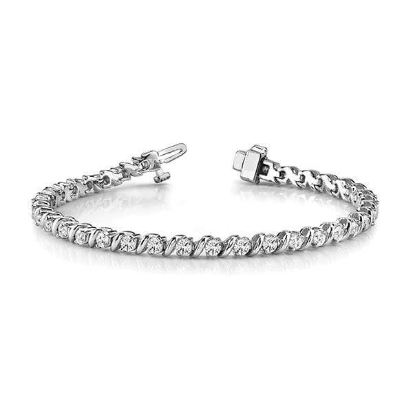 Dignity Diamond Bracelet- 3 Cttw | The Carat Lab