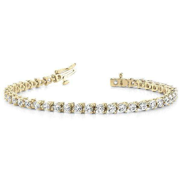 Classic Diamond Tennis Bracelet- 1 Cttw | The Carat Lab