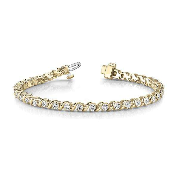 Dignity Diamond Bracelet - 2.60 Cttw | The Carat Lab