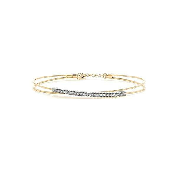 Orbital Diamond Bracelet | The Carat Lab