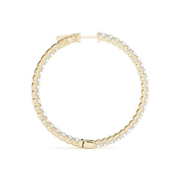 Precious Diamond Hoop Earrings- 0.60 Cttw | The Carat Lab