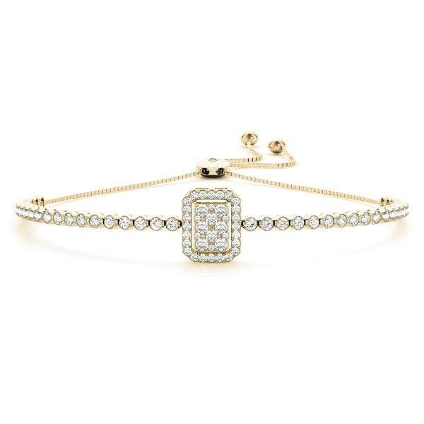 Radiant Diamond Bracelet | The Carat Lab