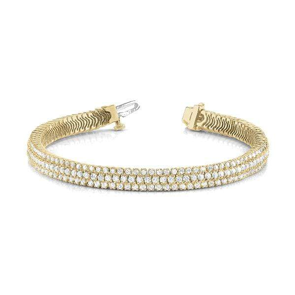 Tre Chic Diamond Bracelet- 4 Cttw | The Carat Lab