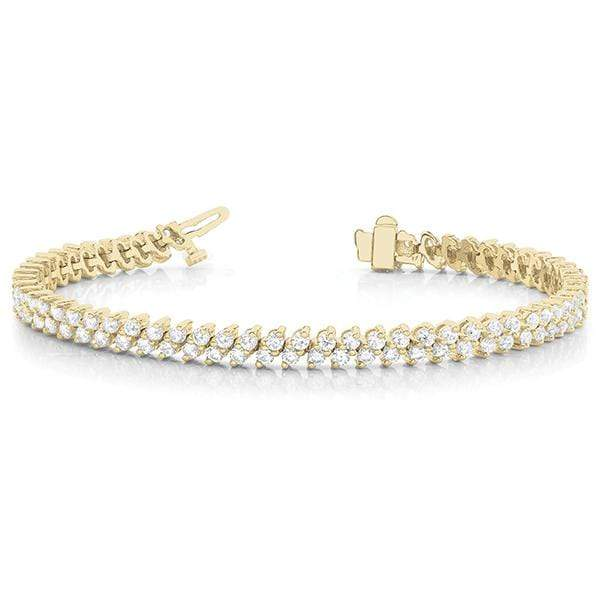 Twin Diamond Bracelet- 4 Cttw | The Carat Lab