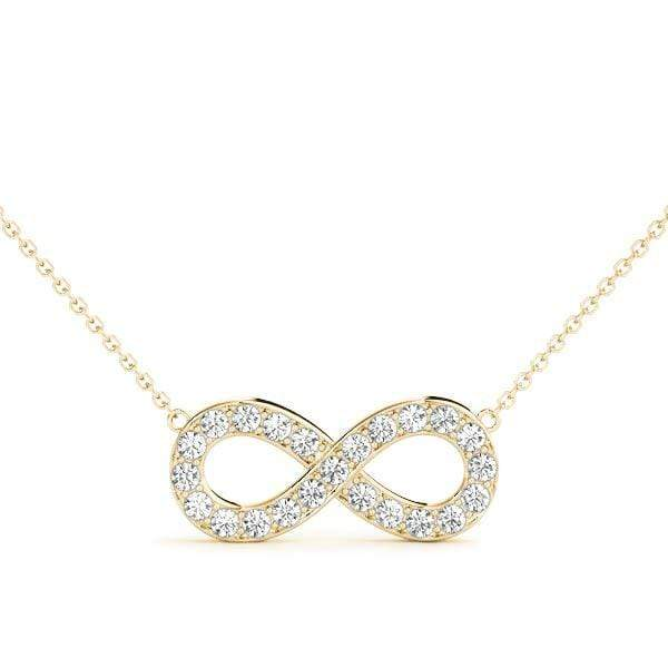 Infinity Diamond Pendant | The Carat Lab