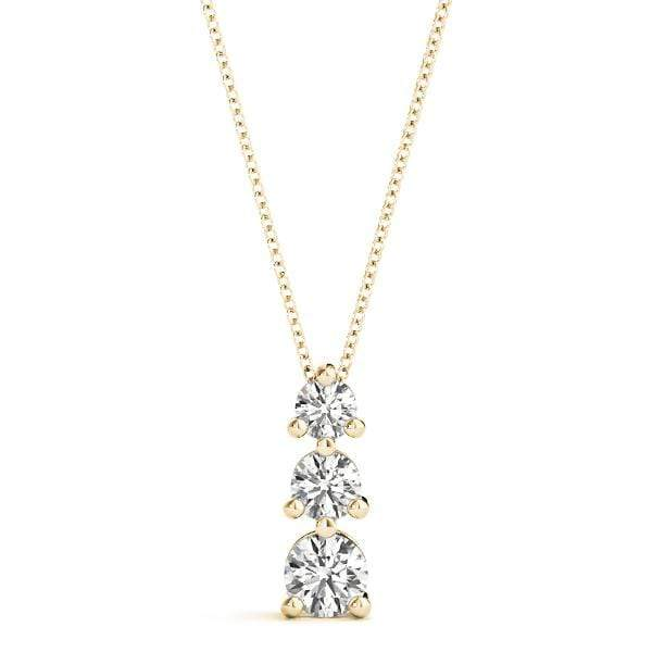 Swell 3 Diamond Pendant- 1 Cttw | The Carat Lab