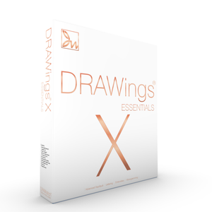 DRAWings X Essentials Embroidery Software